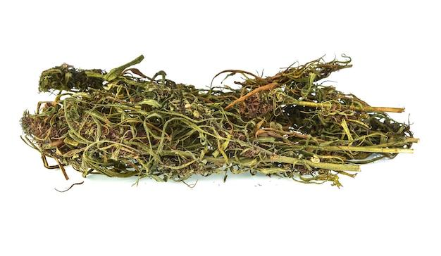 Встряхните листья каннабиса и каннабиса