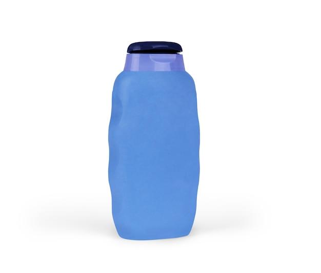 Shampoo bottle on the white backgrounds