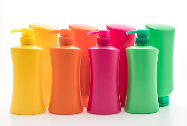 Shampoo or hair conditioner bottle