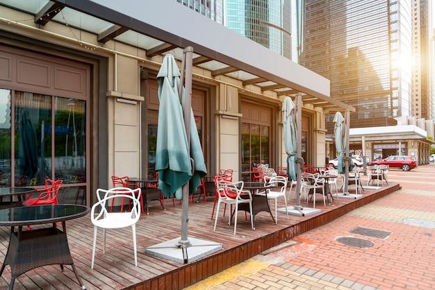 Шанхай бунд открытый бар кафе-бар
