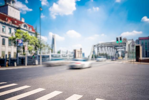 Вид на улицу шанхая