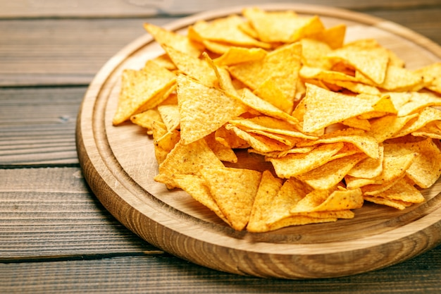 Sharp mexican nachos chips.