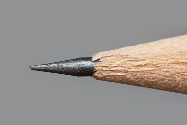 Sharp tip of a pencil macro