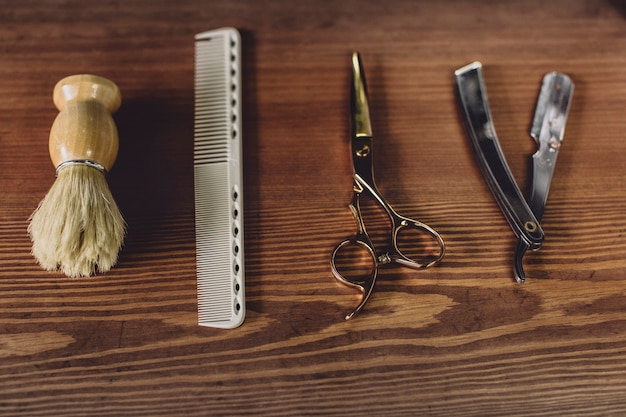 Shaving and haircut equipment