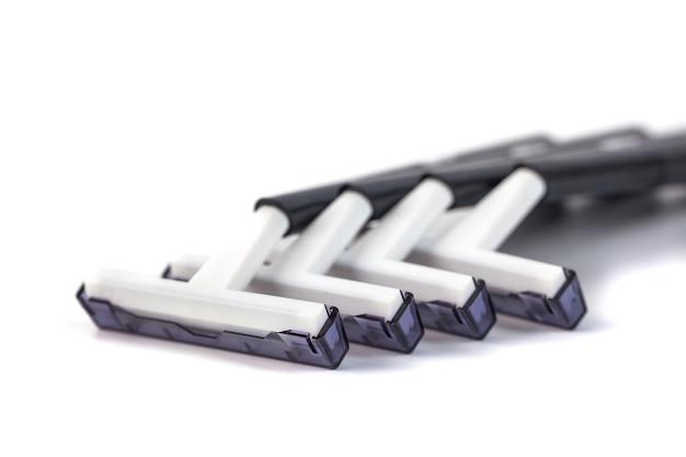 Shaving razors isolated on a white.