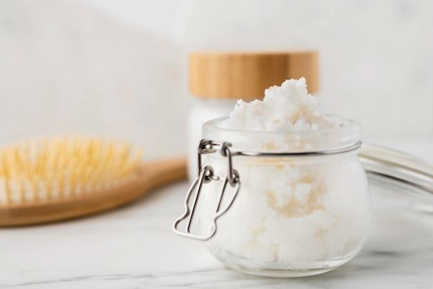 Shea butter beauty treatment
