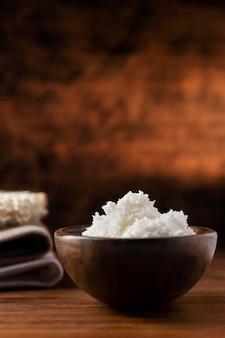Shea butter treatment composition