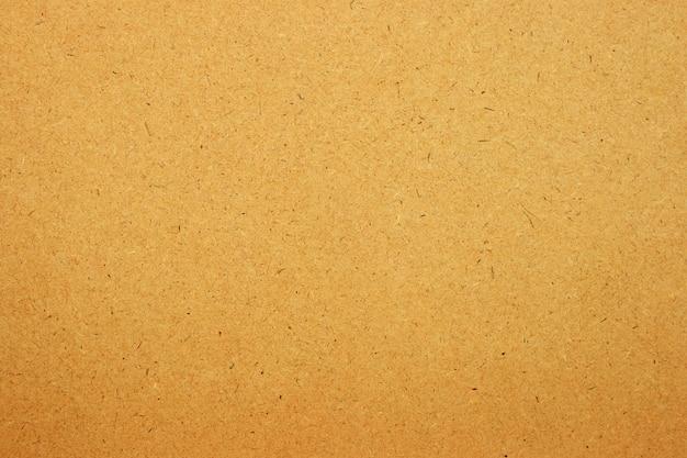 갈색 종이 또는 판지 질감 배경의 시트.