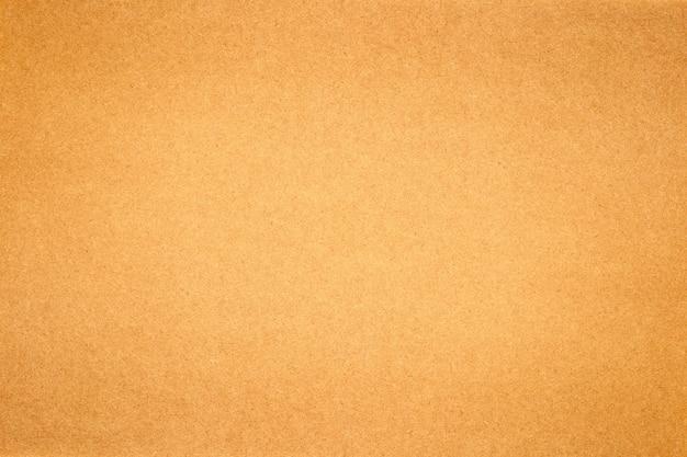 茶色の紙や段ボールのテクスチャ背景のシート。