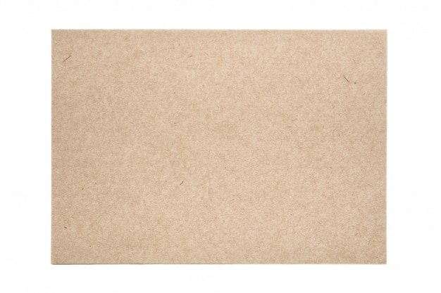 Sheet of traditional handmade paper on white table