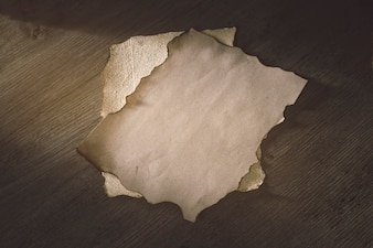 Sheets of old parchment