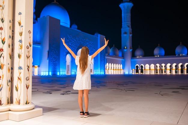 Мечеть шейха зайда в абу-даби, оаэ