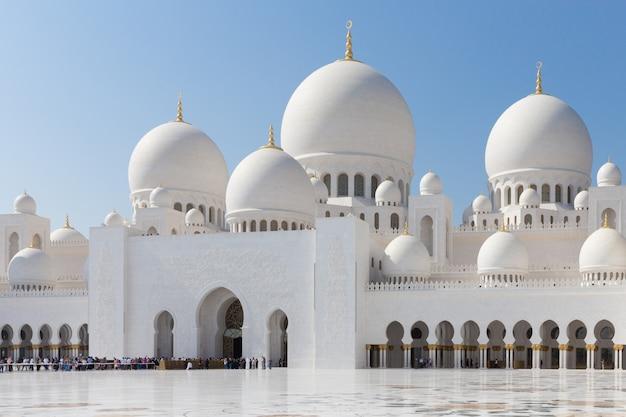 アブダビのシェイクザイードモスク