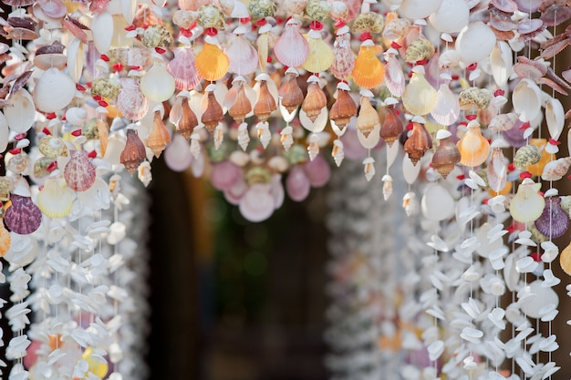 Shells decoration