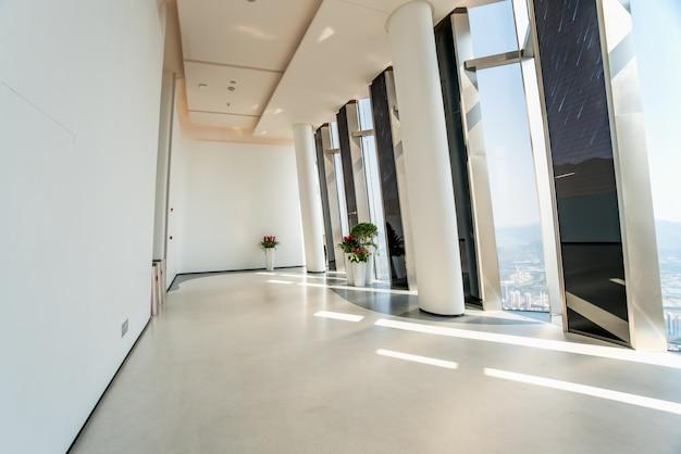 Shenzhen high rise building indoor viewing platform