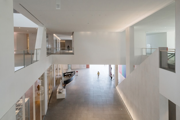 中国深shenzhenの文化芸術センター、文化芸術センターの内部空間