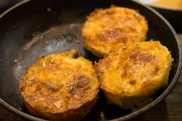 帯状疱疹はレストランの鍋で揚げられます