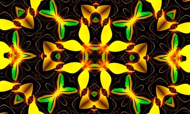 輝く黄色の十字架、ジェス教会の宗教信仰キリスト教のサイン、黄色のアイコンのロゴのシンボル。