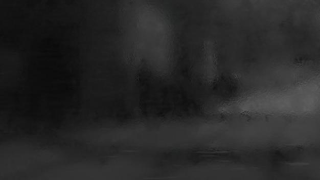 シニーウェットブラックメタリック壁のテクスチャ