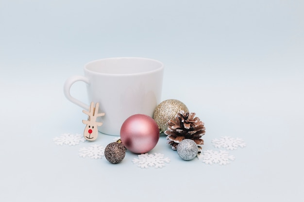 Shiny baubles with big cup