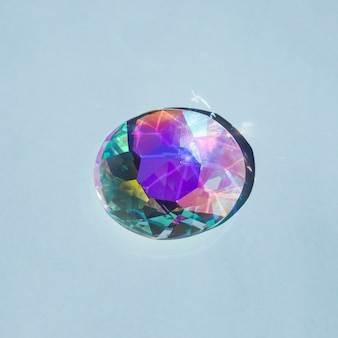 輝くカラフルな宝石