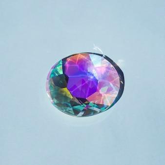 Shiny colorful jewel