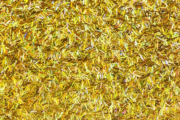 Shiny golden glitter festive background