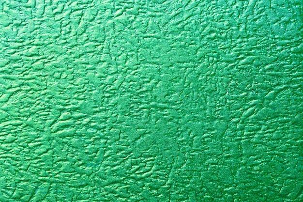 光沢のある緑色のホイルテクスチャメタリック
