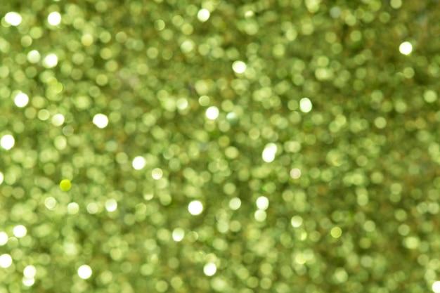 闪亮的绿色闪光纹理背景