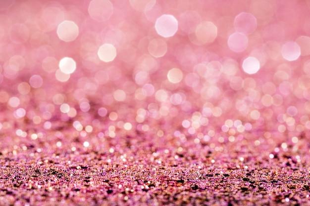 반짝이는 핑크 글리터