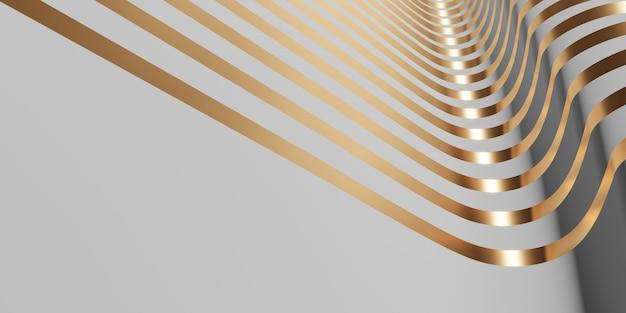 Блестящая поверхность ленты развевающийся фон для украшения 3d иллюстрации