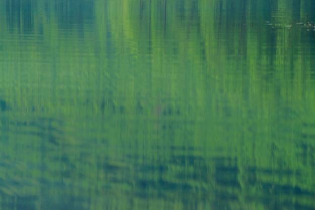 Блестящая текстура поверхности горного озера