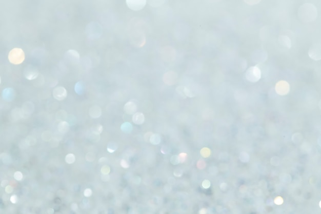 Shiny white glitter textured background