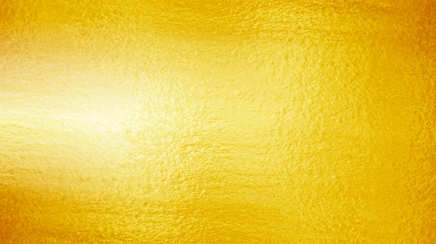 Shiny yellow leaf gold texture