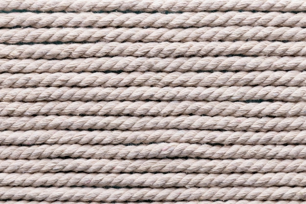 Ship white ropes horizontal lines background