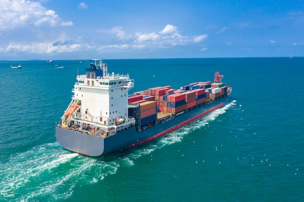 Shipping cargo containers businesses services import and export international