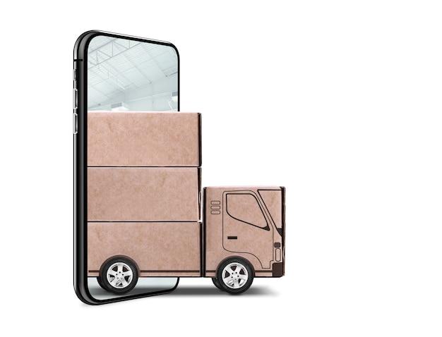 Shipping concept Premium Photo