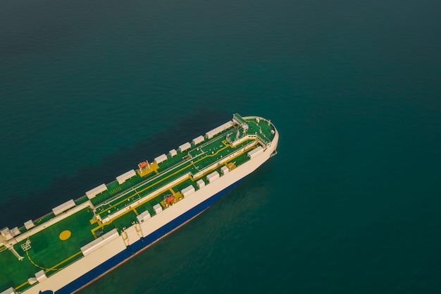 Shipping loading cars international open sea