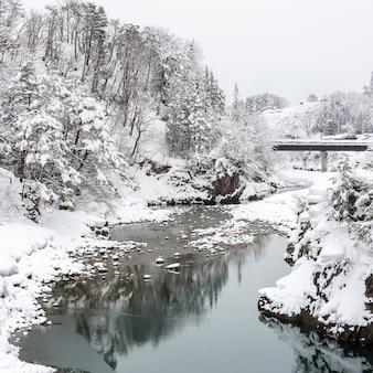 Shirakawago japan winter