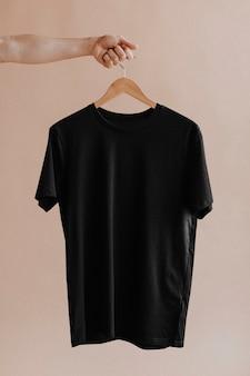 Shirt in a hanger