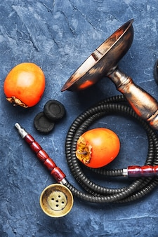 Shisha with persimmon