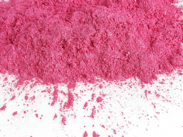 Shocking pink mica pigment powder for cosmetic