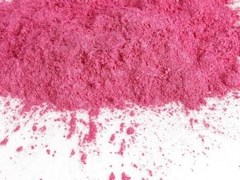 ショッキングピンク色の雲母顔料粉末化粧品用
