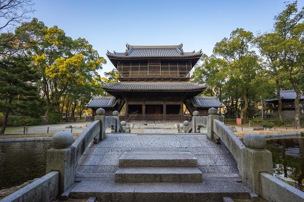 Shofukuji zen temple in hakata fukuoka, japan