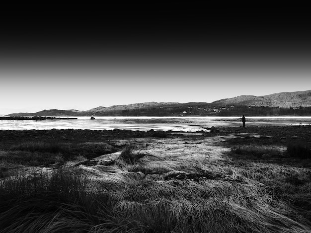 Съемка красоты осени норвегия лофотенские острова hd
