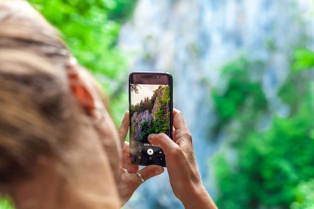 Съемка скал с помощью смартфона