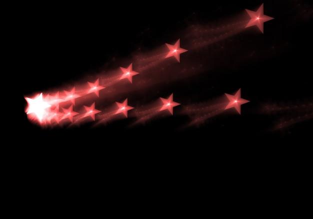 トレイルで星を撮影