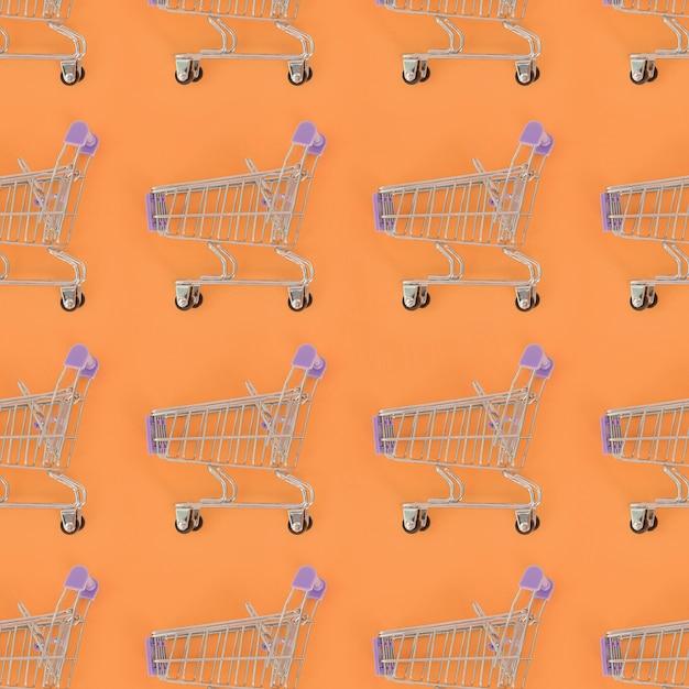 Shopping addiction, shopping lover or shopaholic concept