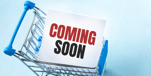 ホワイトペーパーのメモリストにショッピングカートとテキストが近日公開されます。