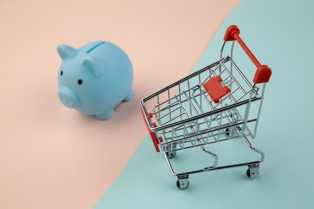 Shopping concept, economy, savings.